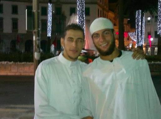 Ayoub et un ami ©Facebook