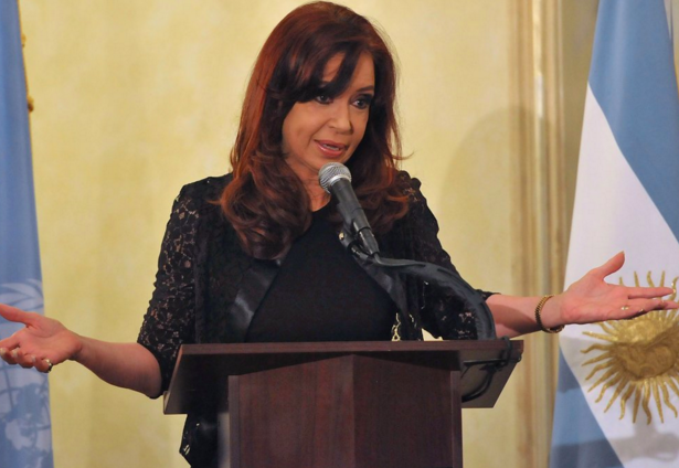 ©https://twitter.com/CFKArgentina/status/664197651609624576